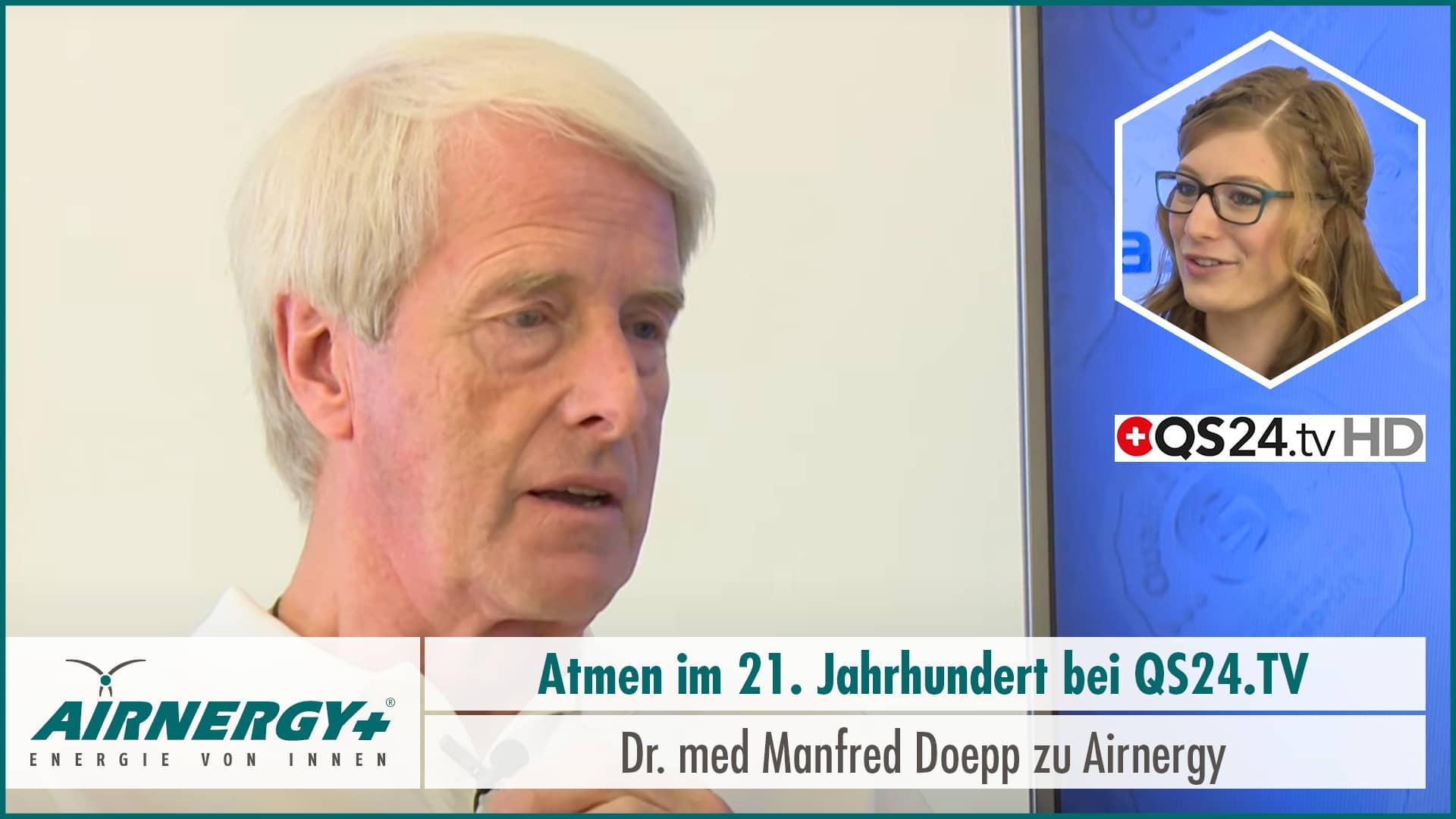 Manfred Doepp zu Airnergy bei QuantiSana TV